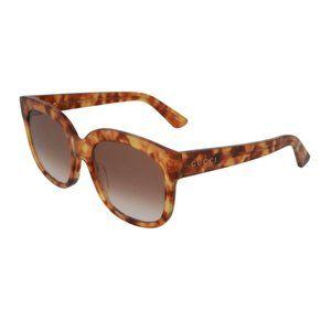 Gucci 56mm Square Frame Sunglasses
